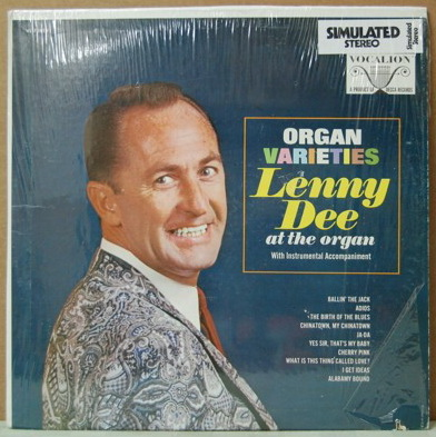 Lenny Dee - Organ Varieties