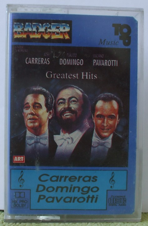 Carreras, Domingo, Pavarotti - Greatest hits